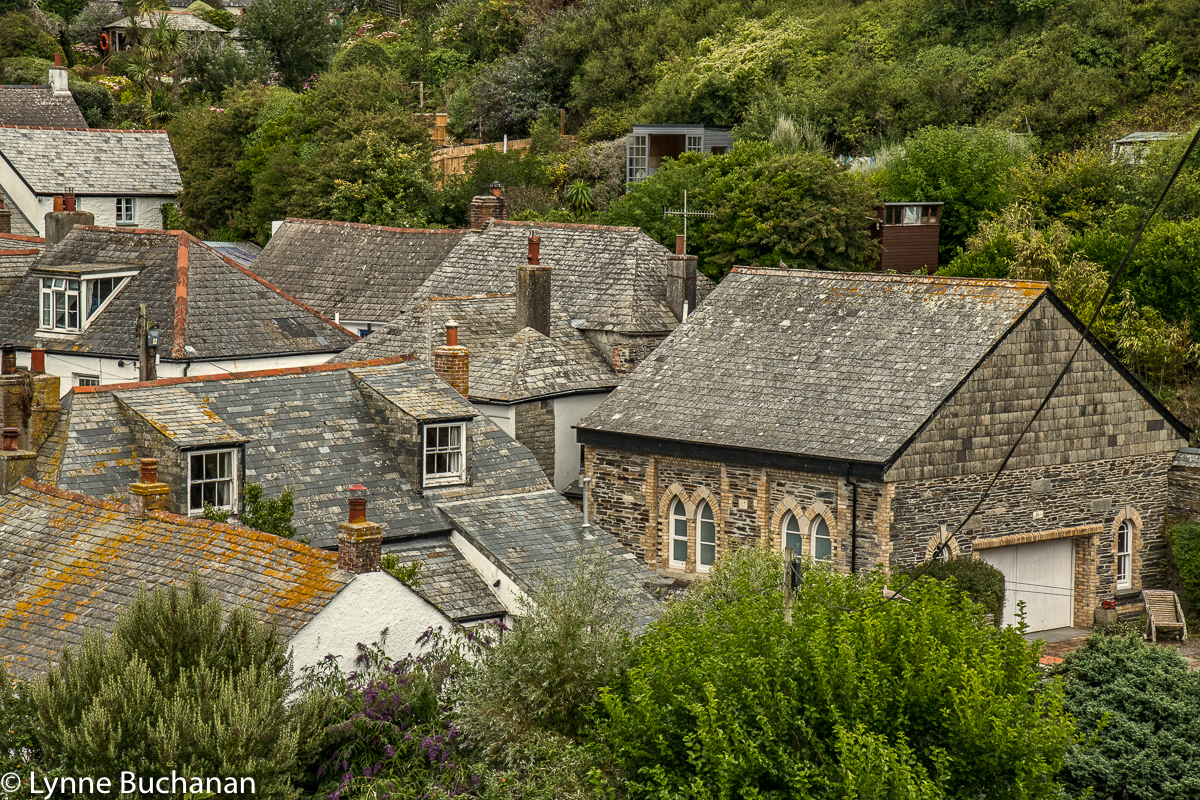 Port Isaac Nestled in the Trees