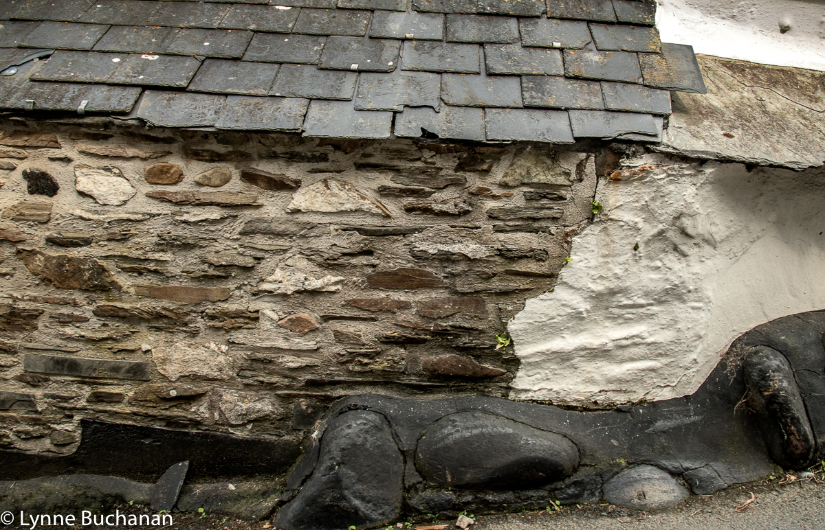 Port Isaac, a Patchwork of Old Building Materials