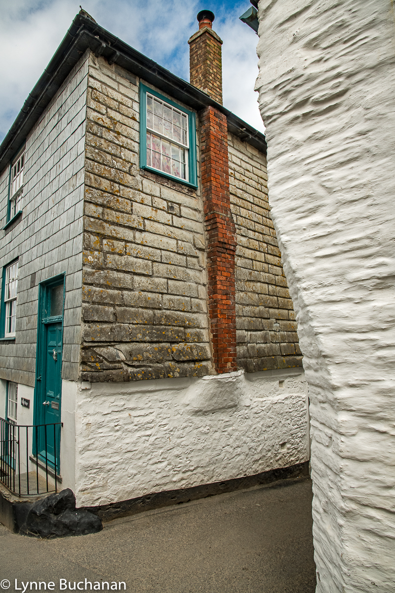Port Isaac Street Corner, Contrasting Edges