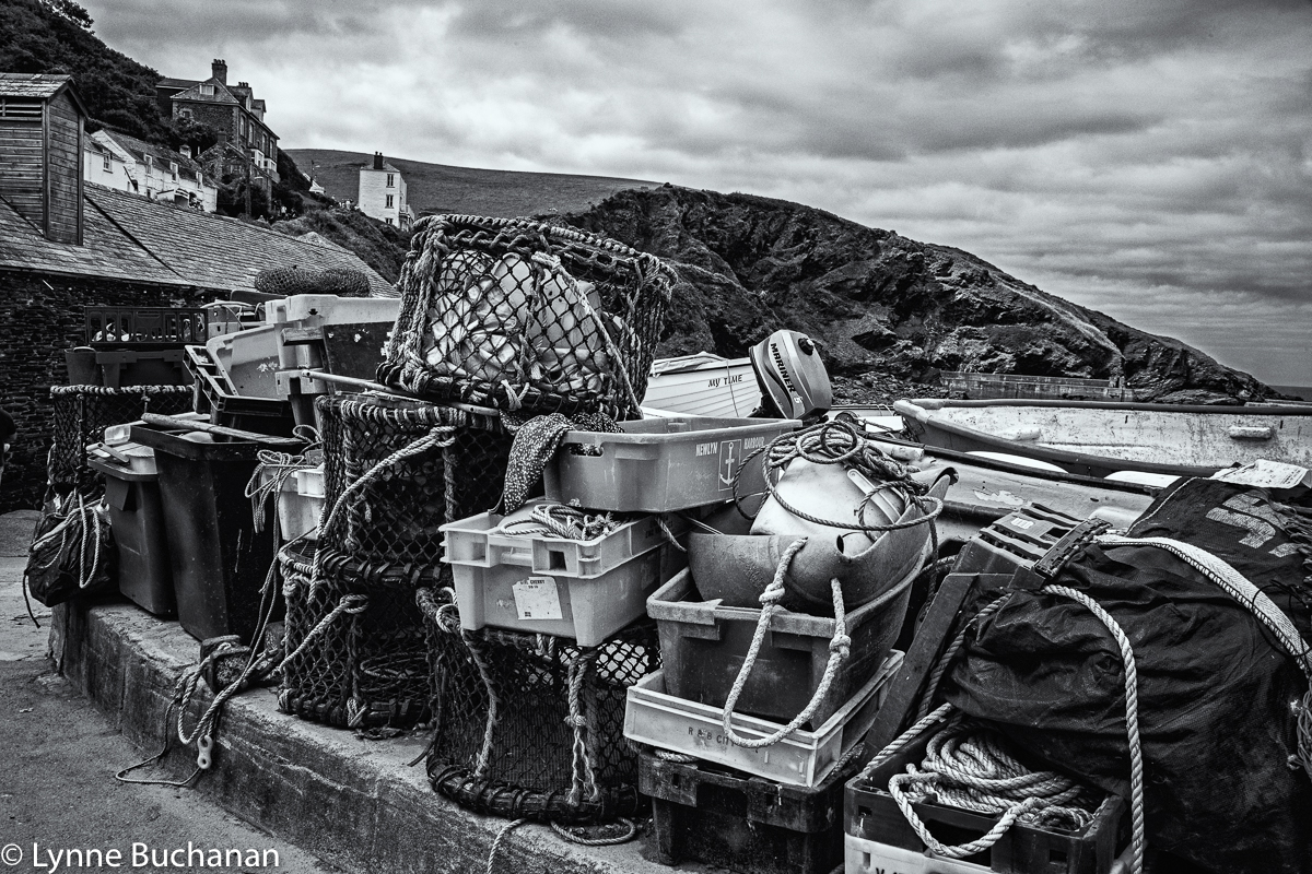 Port Isaac, Fishing Gear