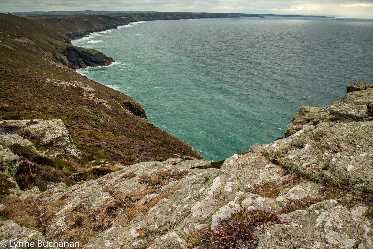St. Agnes Head Rocky Coastline Near a Quarry