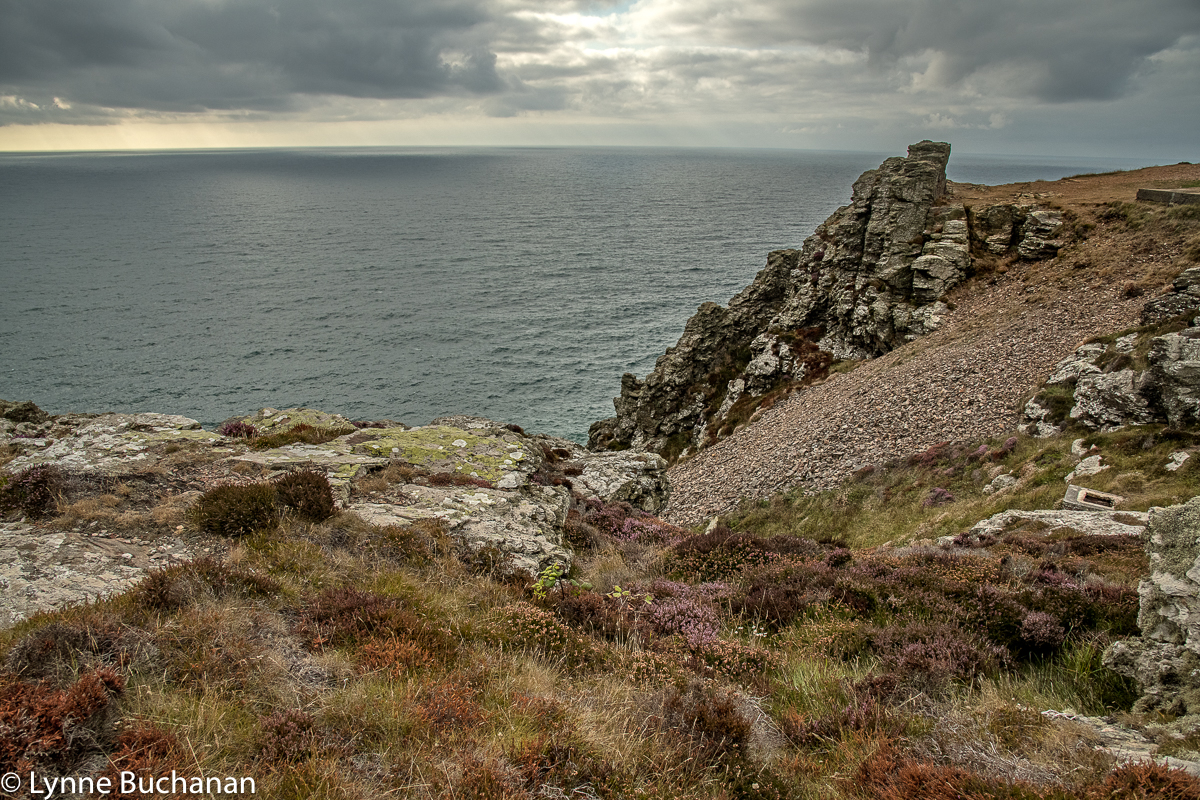 St. Agnes Head near the Quarry and Old Tin Mine Shaft