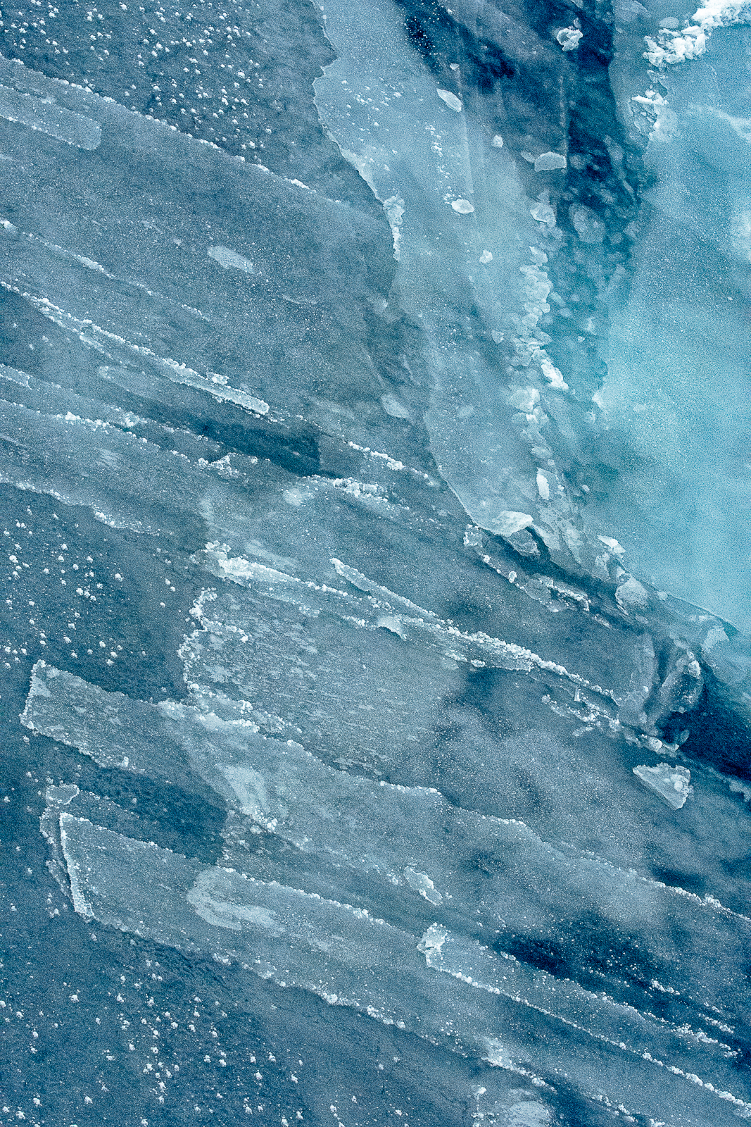 Ice Fingers in the Weddell Sea
