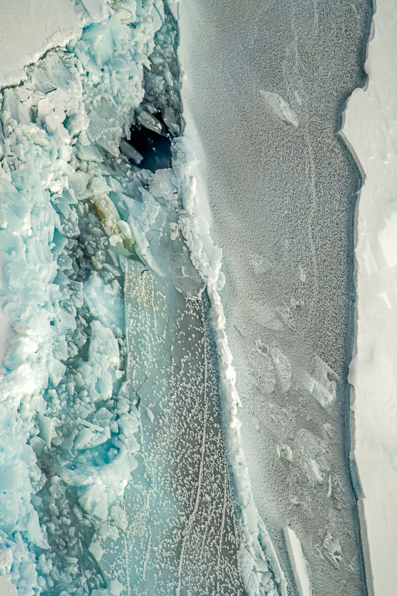 Sculptural Sea Ice Patterns