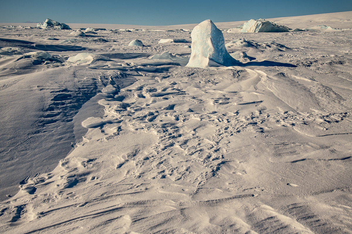 Antarctic Desert Moonscape, Snow Hill Island
