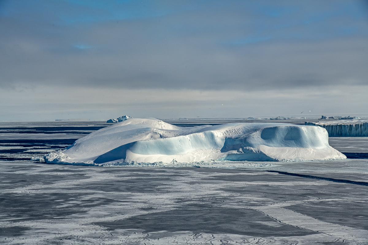 Henry Moore-Shaped Iceberg, Weddell Sea