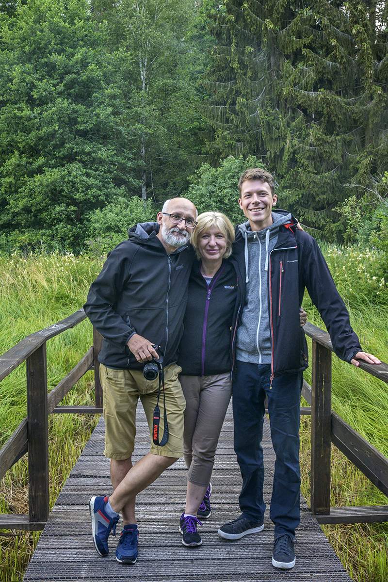 My Polish Family: Marek, Ania, and Tomek