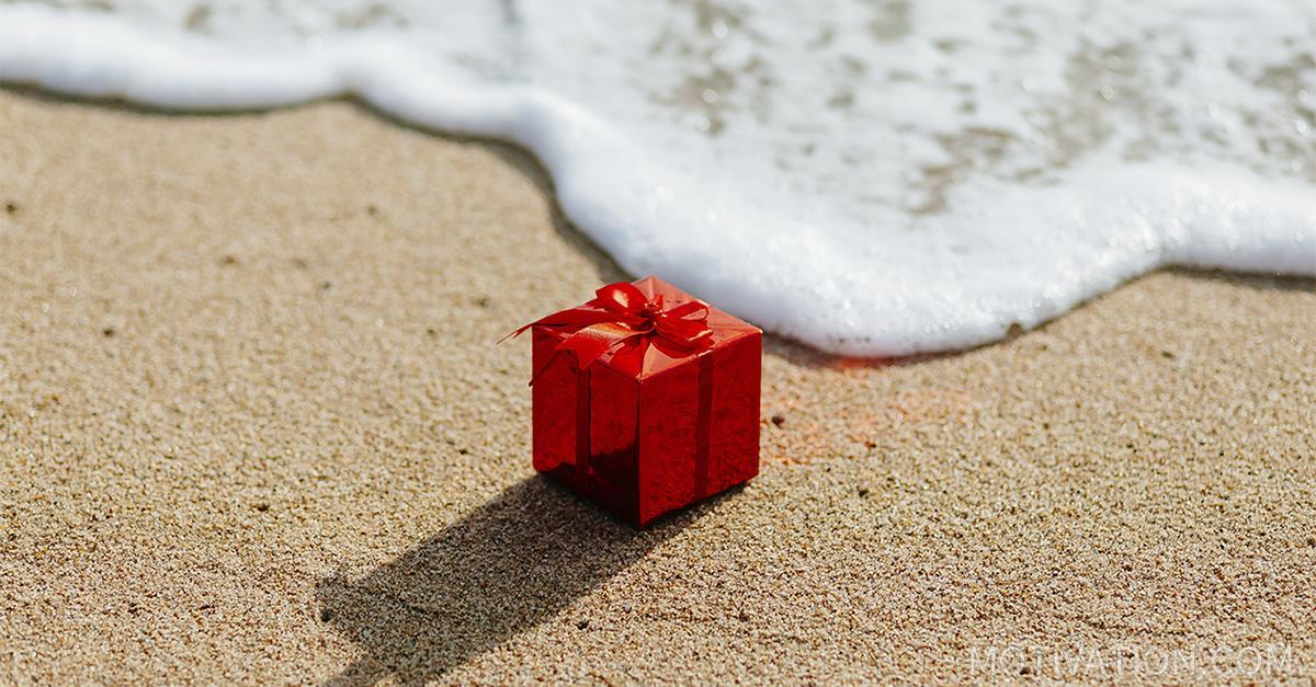gift box beach