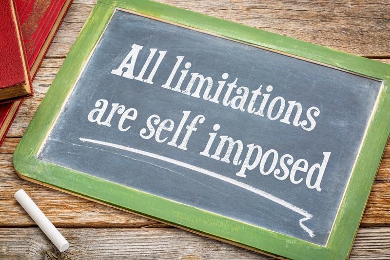 limitations fears chalkboard