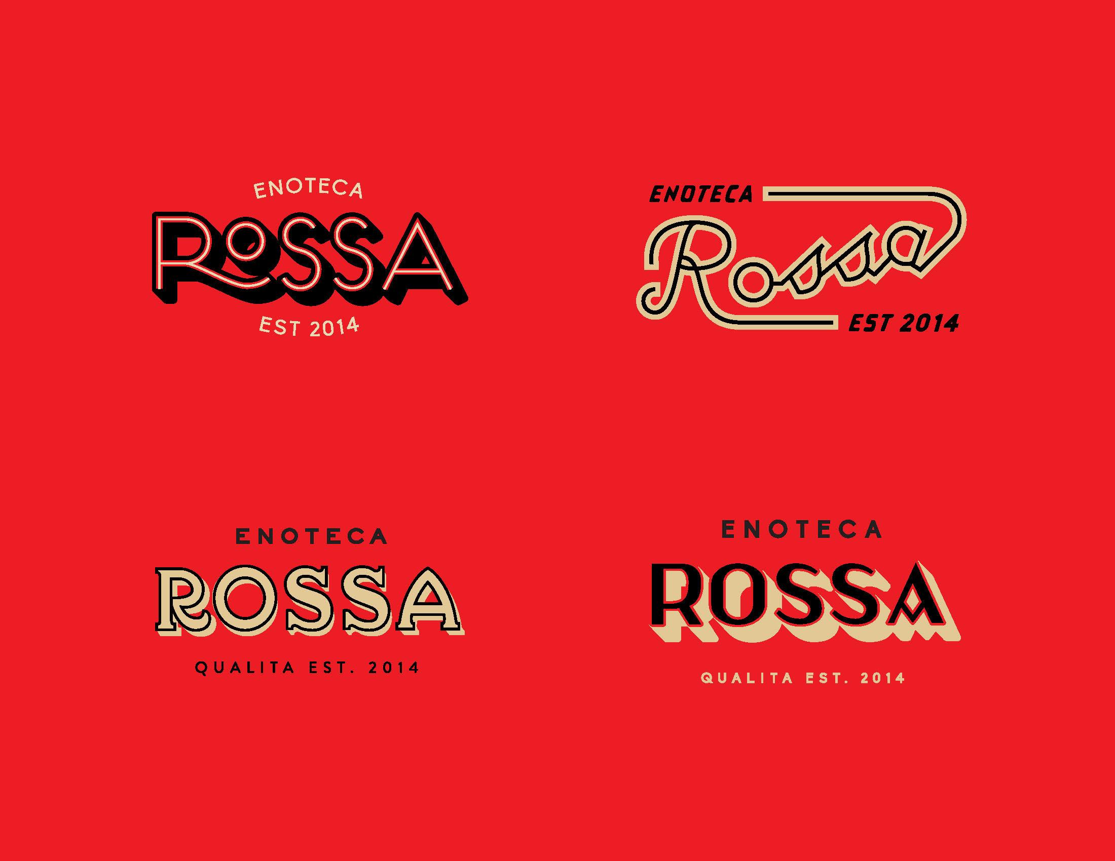 Rossa Logo Iterations