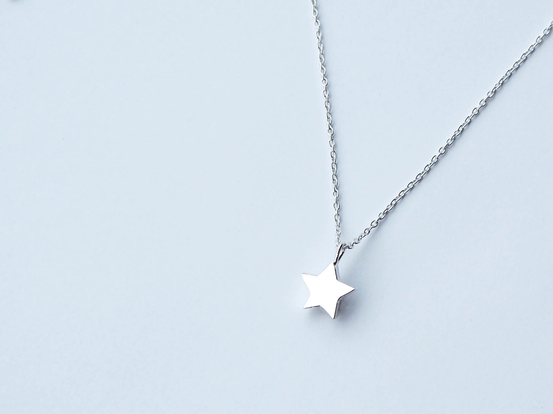 Star Pendant - Sterling Silver