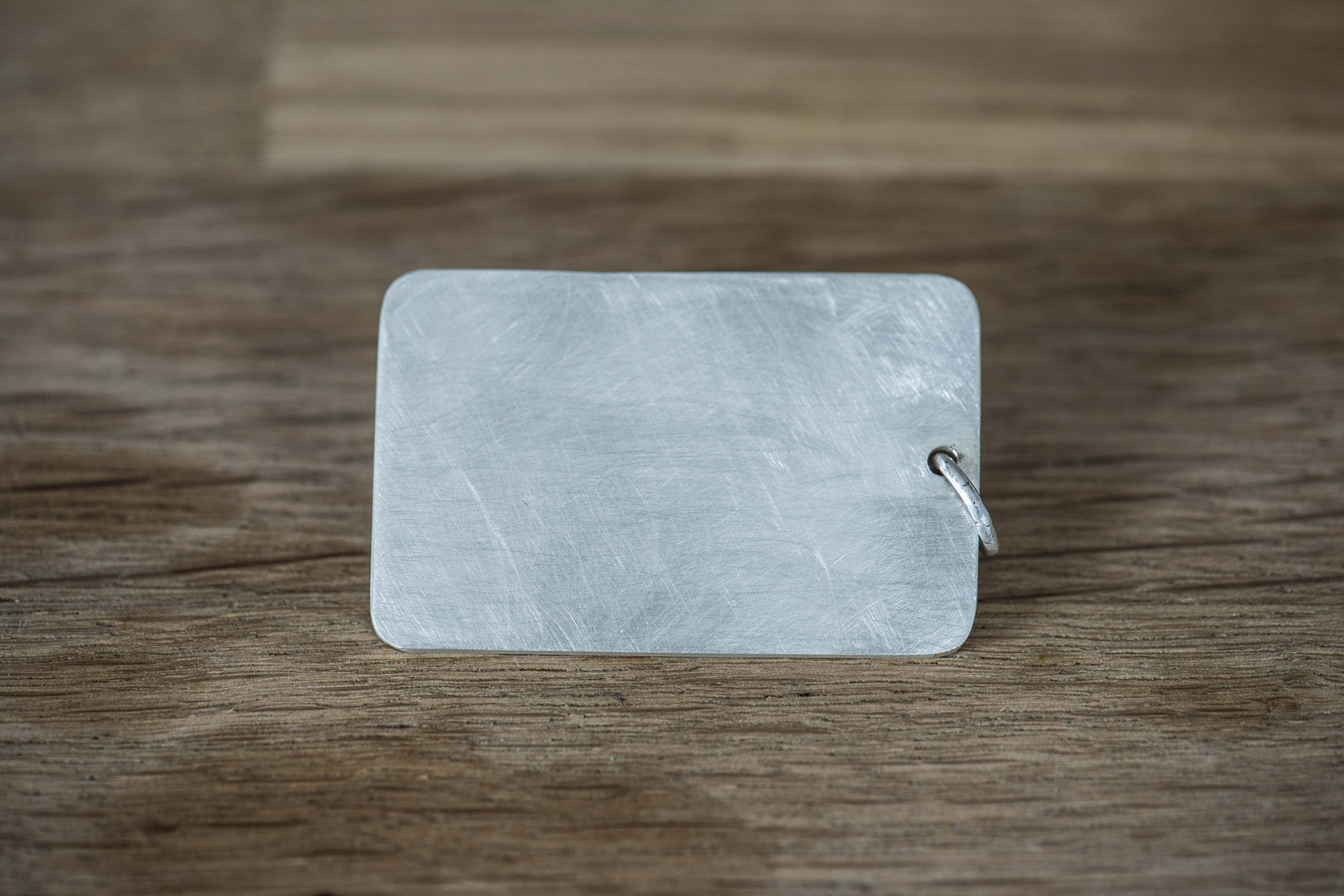 Key Chain (Texture) - Sterling Silver