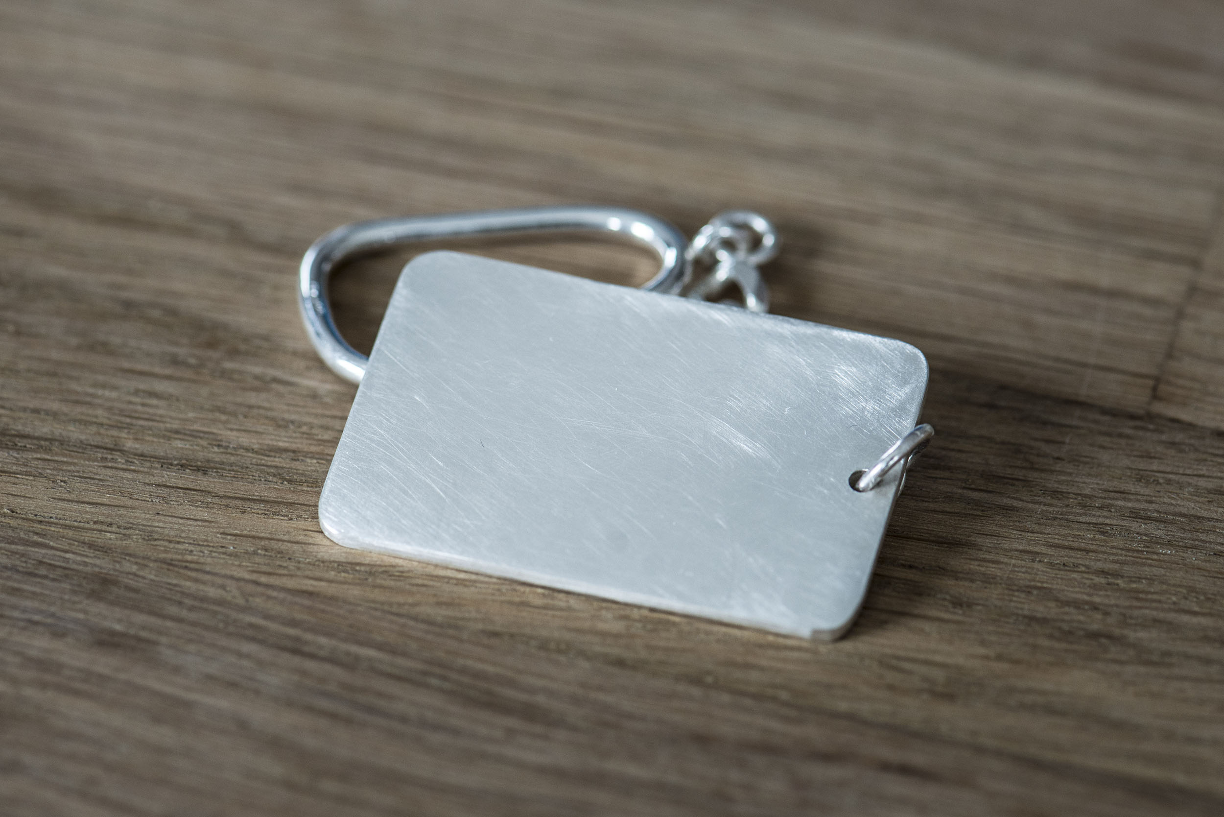 Key Chain - Sterling Silver