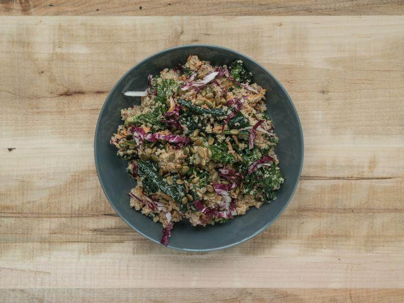 Quinta Ontario Quinoa & Kale Salad