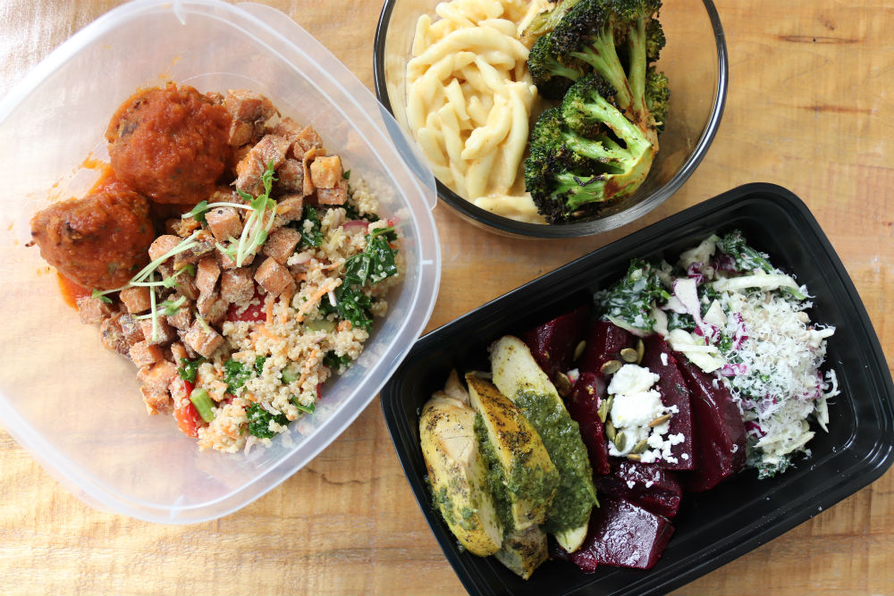 Bring your own container and save $0.50 on any plate