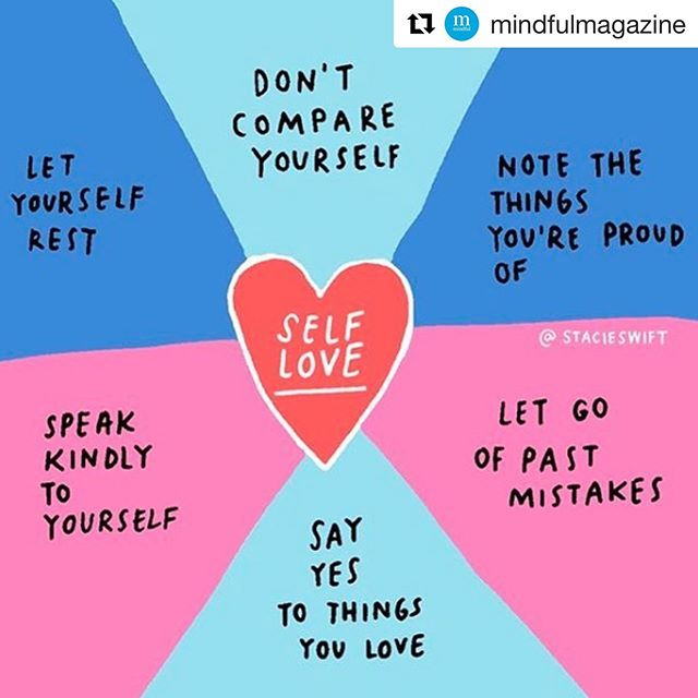 A self love reminder on this beautiful day ☀️❤️from @stacieswift 💗 #Repost @mindfulmagazine • • #MindfulMagazine #Mindful #mindfulness #selfcompassion #selflove #resilience #mindfulmoment #meditation #meditate #practice #confidence #therealpracticeisyourlife