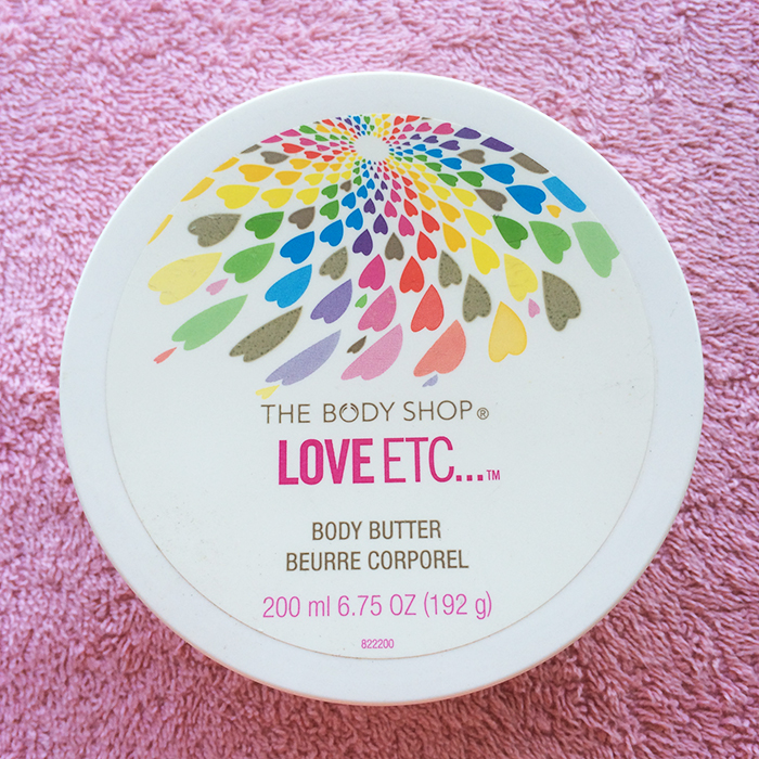 The Body Shop Love Etc... Body Butter