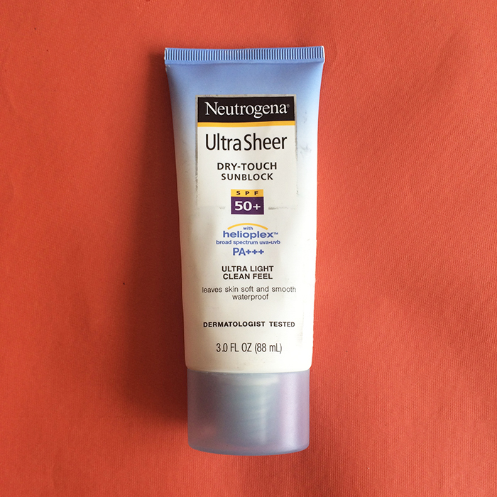 Neutrogena Ultra Sheer Dry-Touch Sunblock SPF 50+