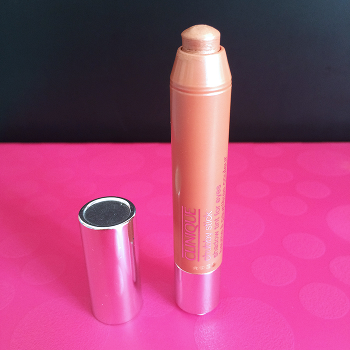 Clinique Chubby Stick Shadow Tint For Eyes In 'Ample Amber'