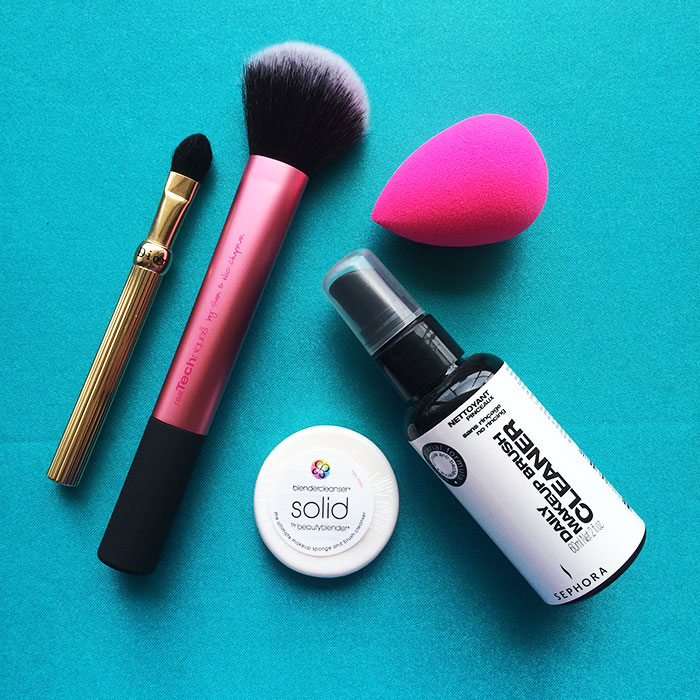 The Right Way To Clean Your Beauty Tools