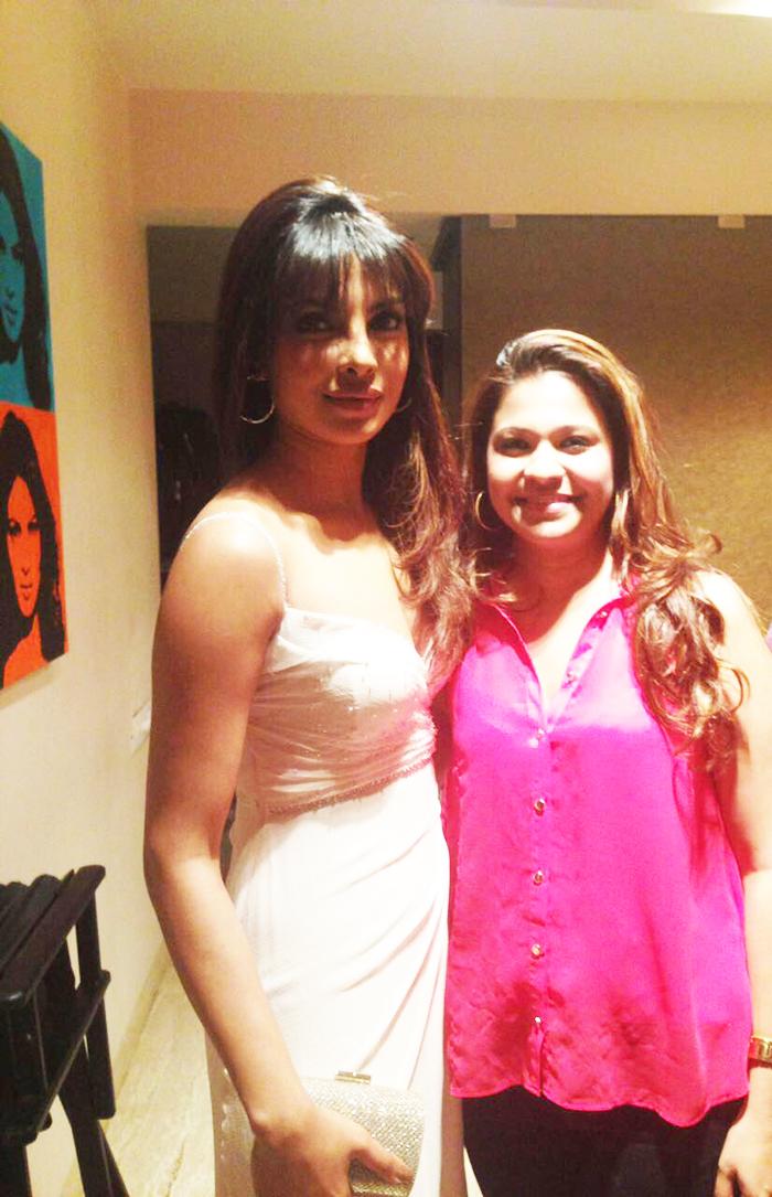 Priyanka Chopra & Bianca Louzado | Source: Bianca Louzado
