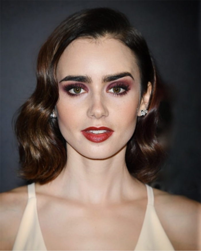 Lily Collins | Source: Molly Stern (Instagram @mollyrstern)