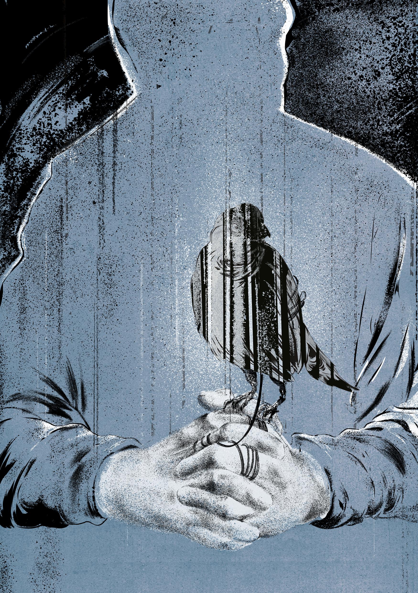 Illustration for Firewords Magazine 'Issue 9'