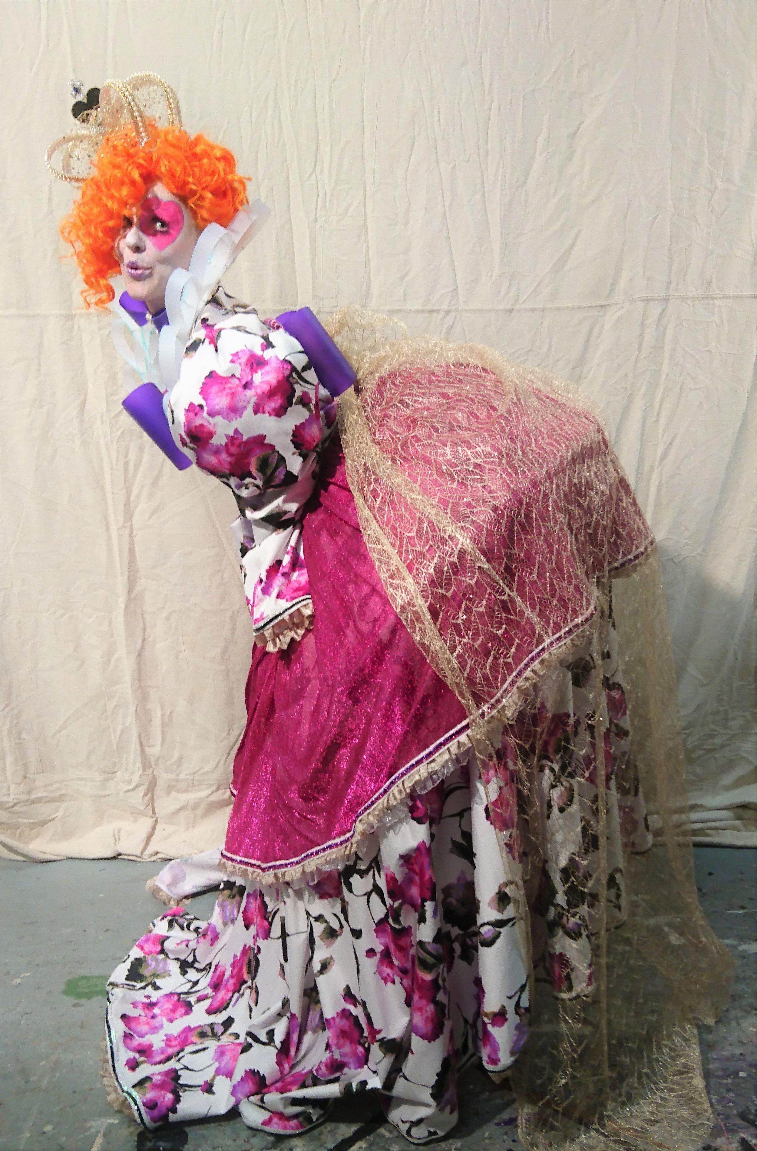 The Human Chameleon - Queen Elizabeth Costume - New Romantic by Kristine Walker (5).jpg