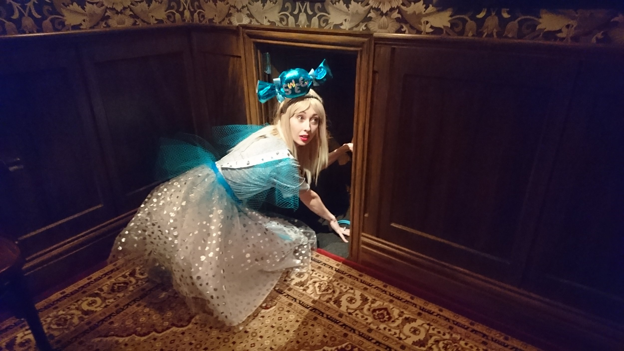 Costume - Kristine Walker - The Human Chameleon - ACMI - Alice in Wonderland (1).JPG