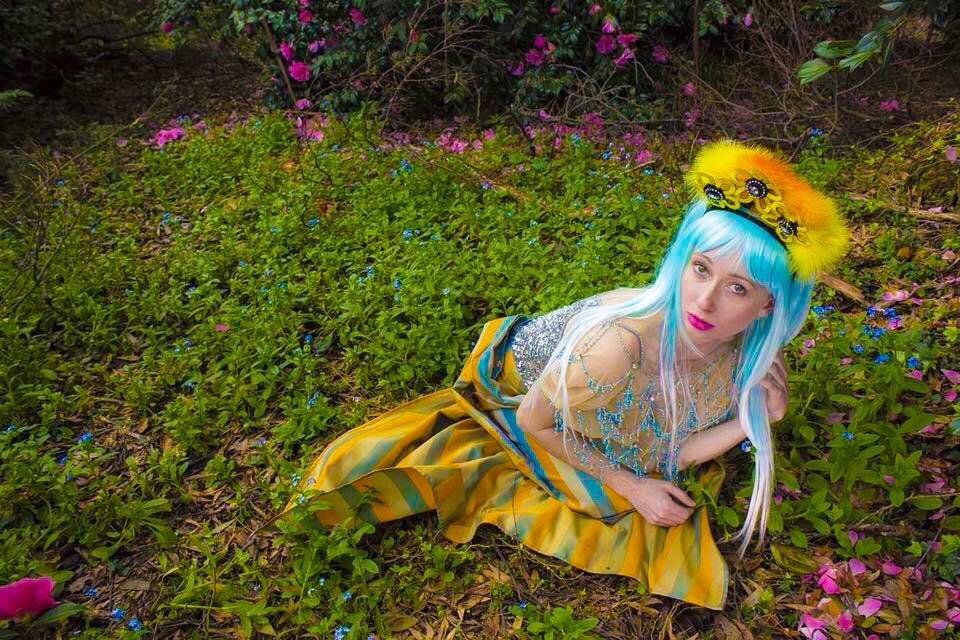 The Human Chameleon - Dandy Daisy - Photo by Gwendolynne Burkin 00.jpg