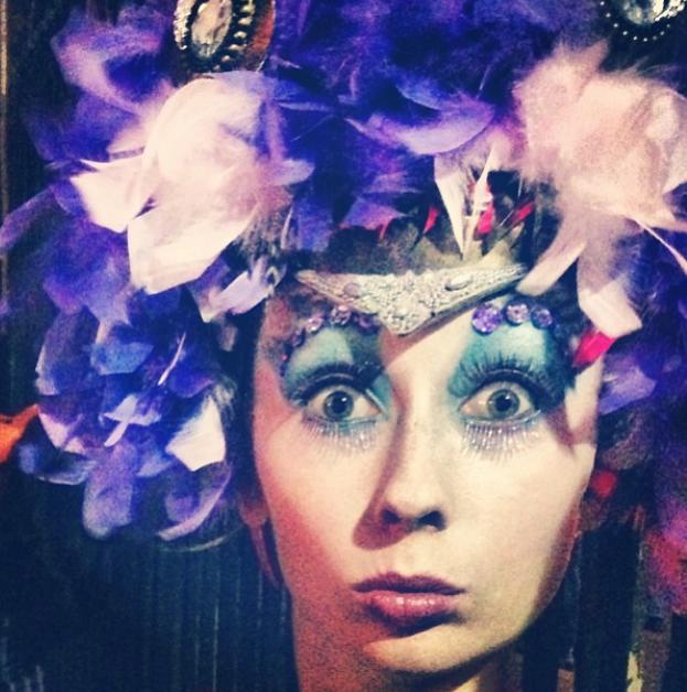 The Human Chameleon - Mardi Gras Drag Costume - Photo by Gwendolynne Burkin 3.jpg
