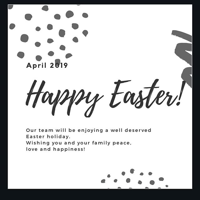 We will be closed from the 18th April 2019, and we will be back in business on the 23rd April 2019.  Be safe on the roads. Dont drink and drive and please do take regular breaks while on the roads.  #easter #easterbreak #holidays #happyeaster #green #organic #safetyfirst #pesticides #fertilizers