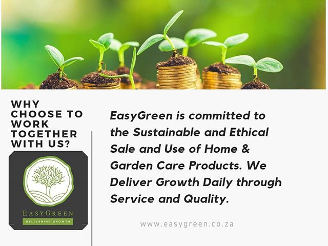 We stand for growth...what do you stand for?  #environment #deliveringgrowth #easygreen #ethical #service #quality #chemicals #insects #pestcontrol