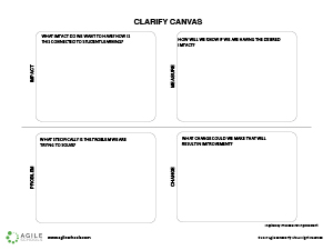 Clarify Canvas -