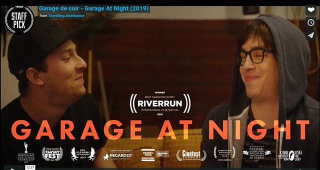 You can now watch Garage de Soir - Garage At Night on Vimeo! Congrats to all the team, what a run! #vimeostaffpick https://vimeo.com/338907692
