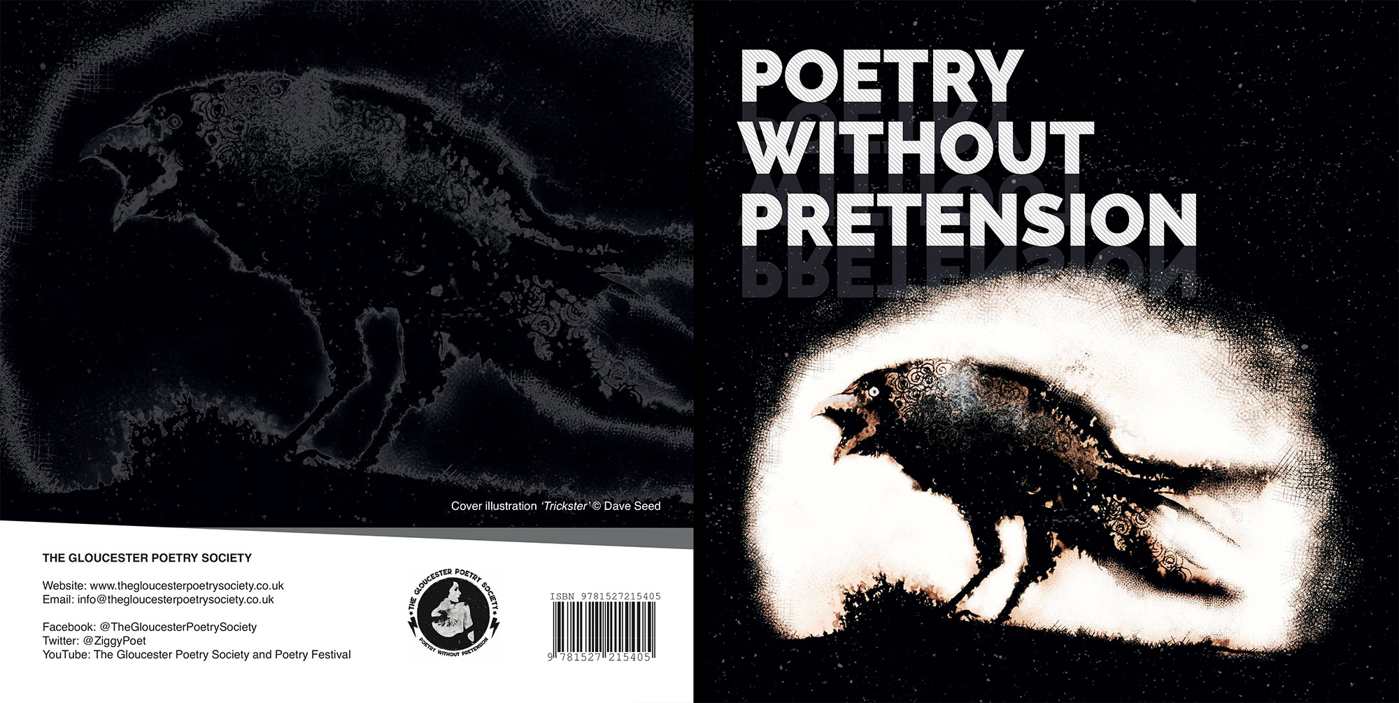 Book Design for Poetry Anthology. Crowdfunded and printed in the UK.