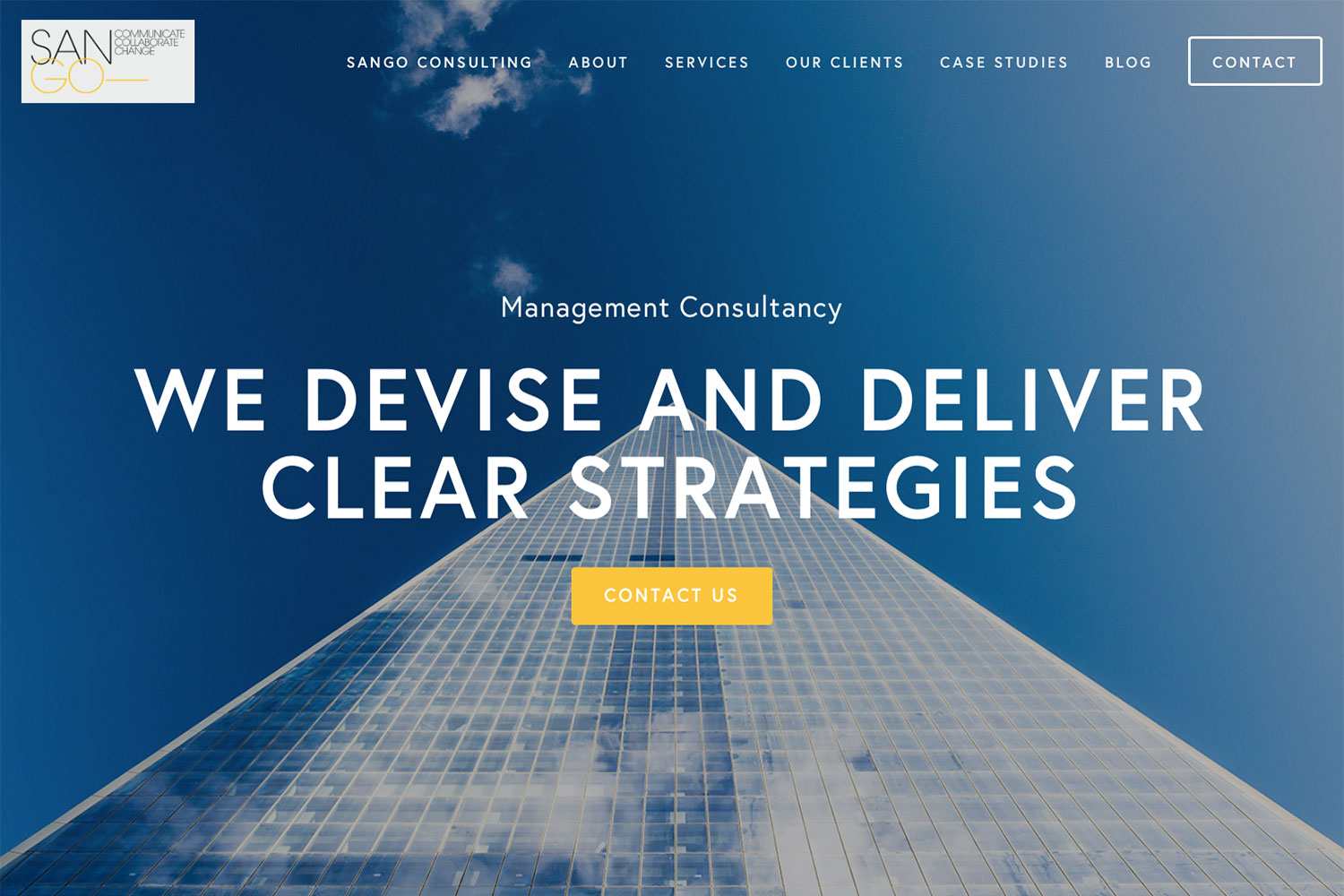 Squarespace website design with image sourcing and project management.