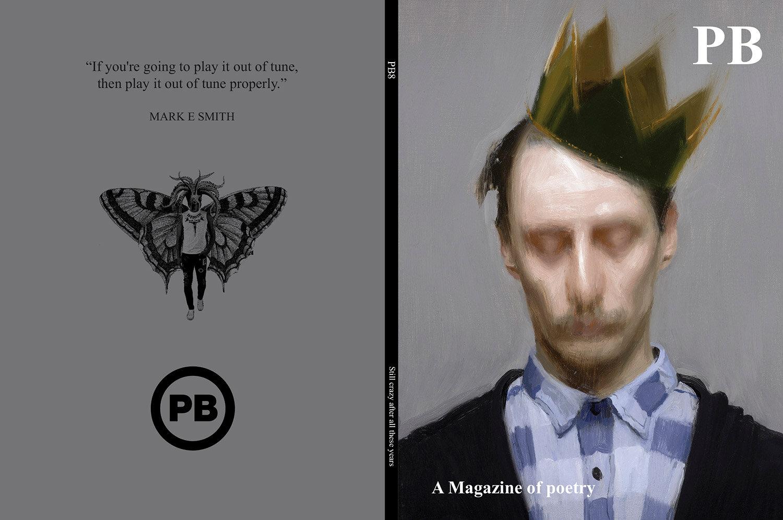 PB8 Magazine Cover Design