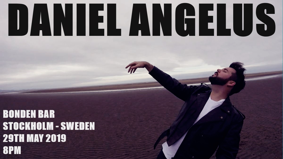 My first show in 2 years kickstarts a long tour that will draw out over the following 6 years. First stop is SWEDEN.