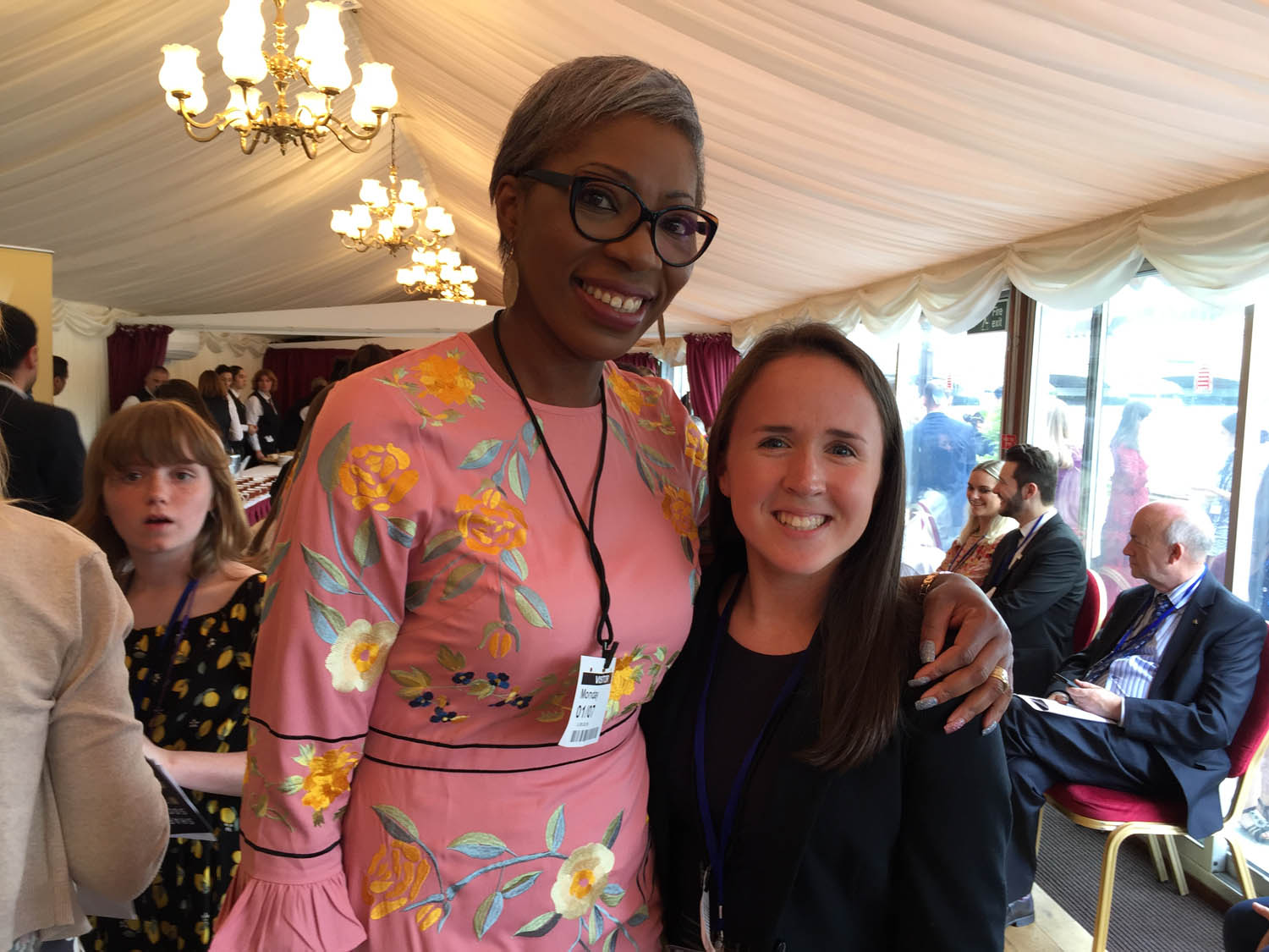 Libby was able to meet and chat with Tessy Ojo, CEO of The Diana Award