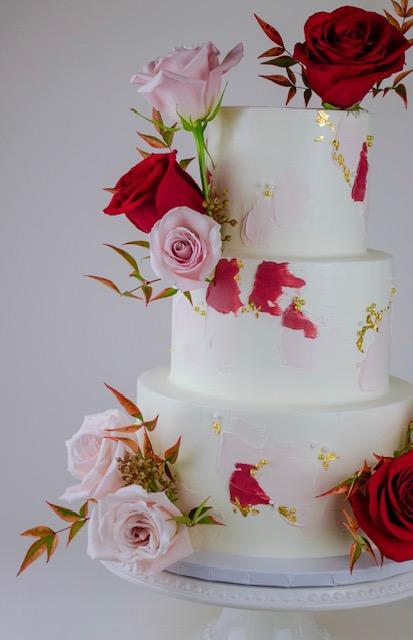 Custom wedding & celebration cakes -