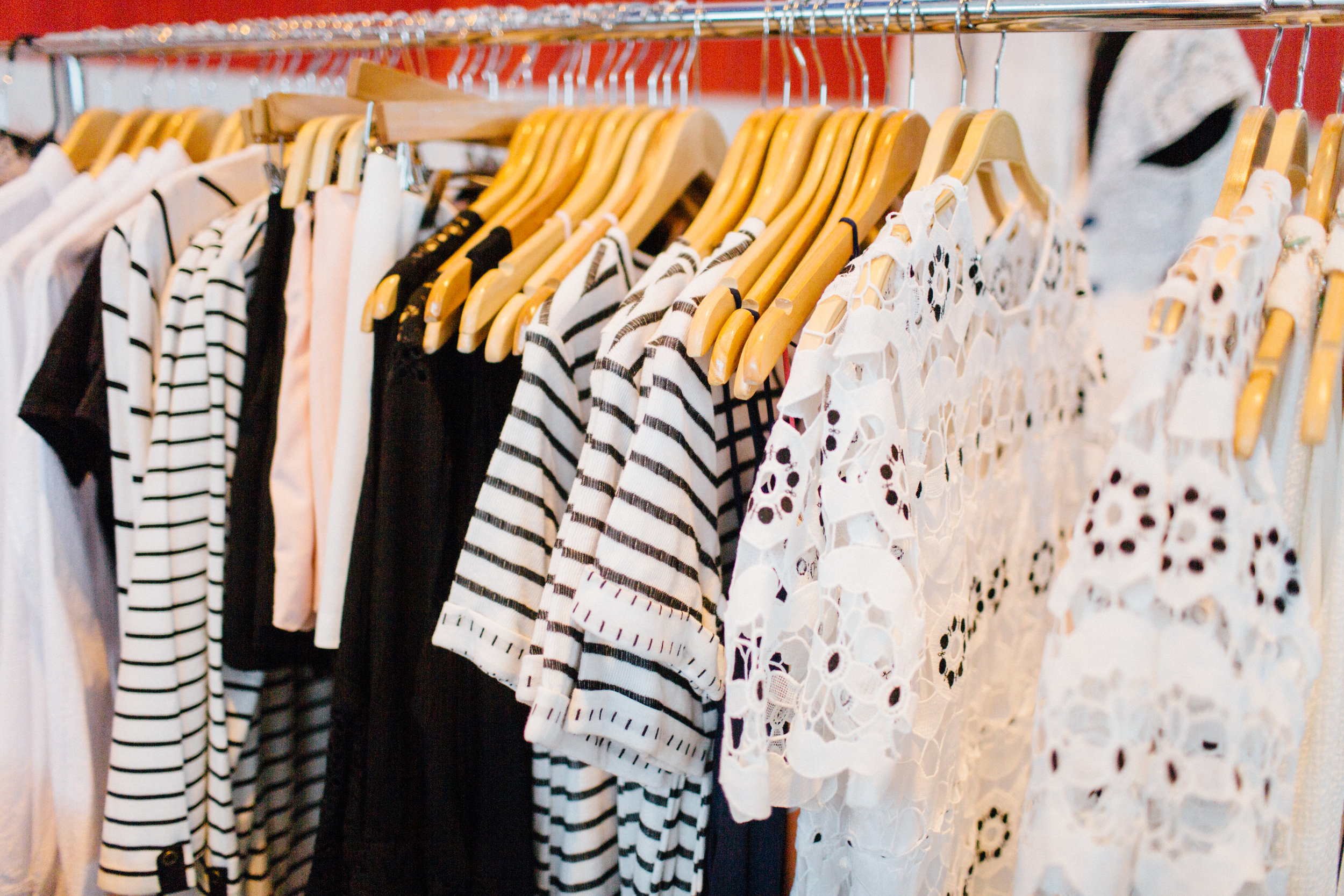 The Wandering Wardrobe - is Cleveland's first mobile boutique featuring fashion forward & affordable styles for women.