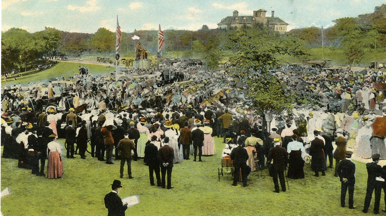 Celebration on University Circle 1908