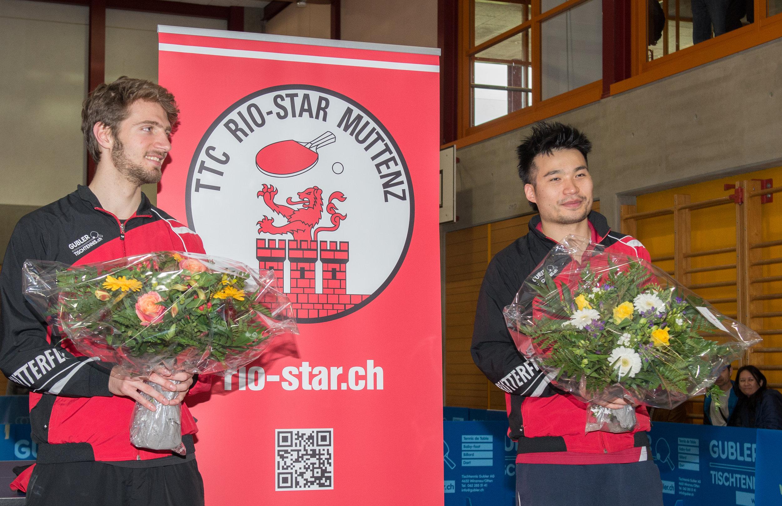 Dominik Moser und Chengbowen Yang