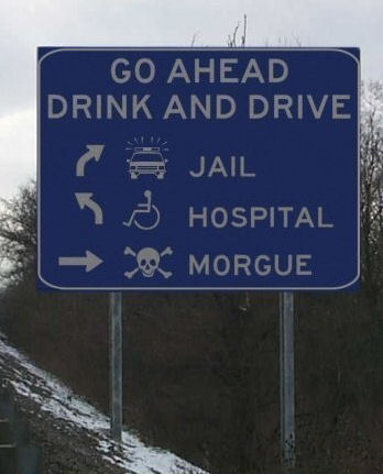 Go Ahead, Drink and Drive