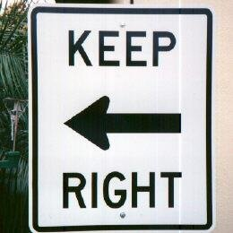 Keep Right (Left)