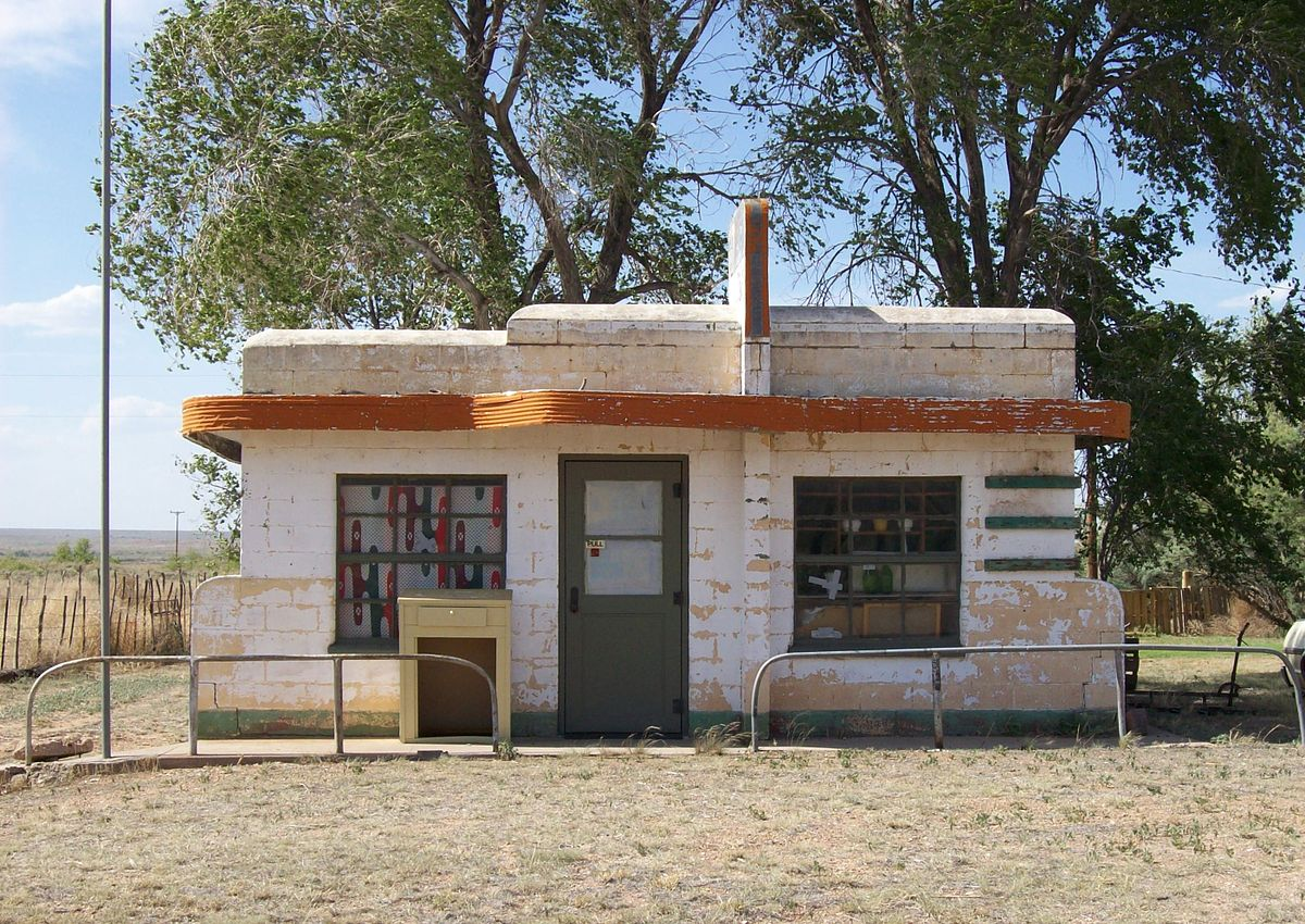 Glenrio Ghost Town: Glenrio, Texas and New Mexico