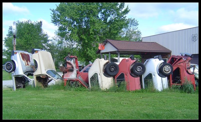 Henry's Rabbit Ranch Home: Staunton, Illinois