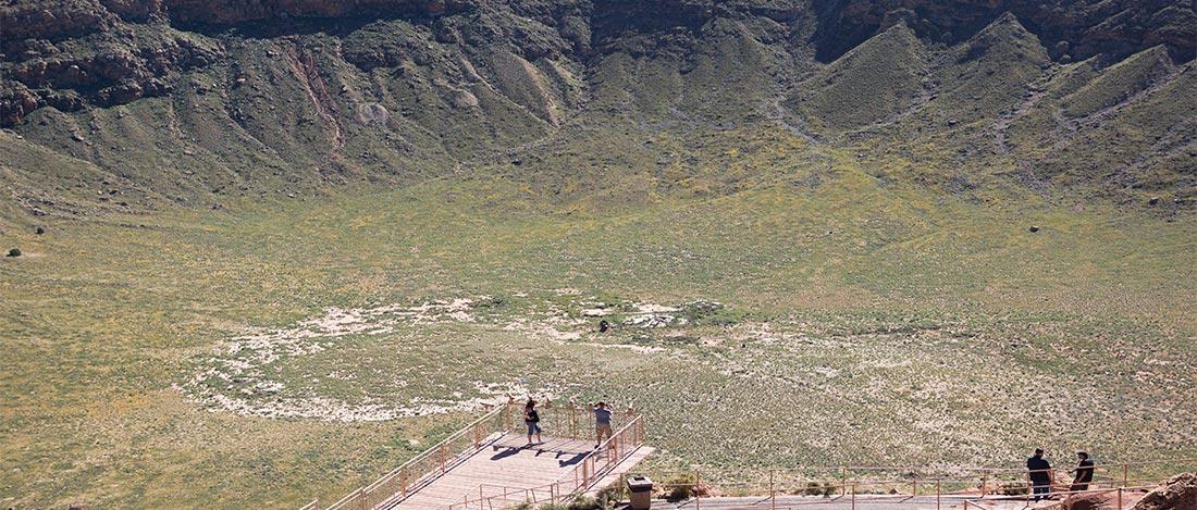 Meteor Crater: near Winslow, Arizona