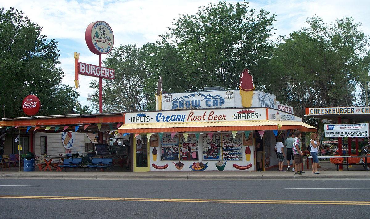 Delgadillo's Snow Cap Drive In: Seligman, Arizona